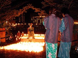 聖夜に響く平和の祈り〜キャンドルイルミネーション in GERO〜