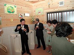 新築トイレでうどんズルズル!?〜完成式で風習再現〜