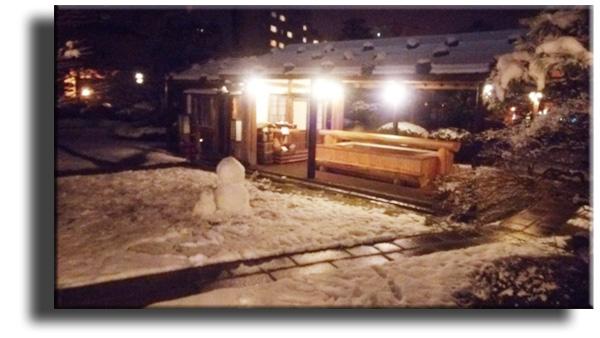 2014.12.14 雪だるま